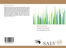 Capa do livro de Permit To Travel