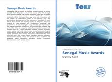 Portada del libro de Senegal Music Awards