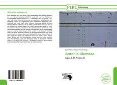 Couverture de Antonio Abenoza