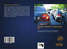 Buchcover von Business Routes of Interstate 15