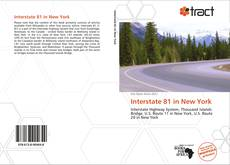 Bookcover of Interstate 81 in New York
