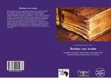 Обложка Bettina von Arnim