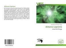 Couverture de Antonio Loprieno