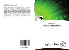 Capa do livro de Rollinia Ecuadorensis