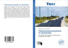 Обложка Telecommunications in Australia