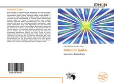 Bookcover of Antonio Gades