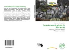 Bookcover of Telecommunications in Germany