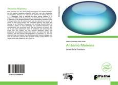 Buchcover von Antonio Mairena