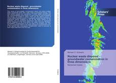 Bookcover of Nuclear waste disposal - groundwater contamination in three dimensions