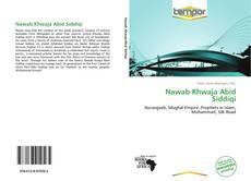 Buchcover von Nawab Khwaja Abid Siddiqi
