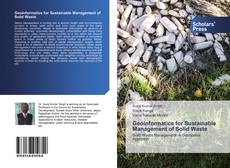 Buchcover von Geoinformatics for Sustainable Management of Solid Waste