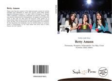 Buchcover von Betty Amann