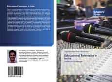 Buchcover von Educational Television in India: