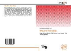 We Are The Dogs的封面