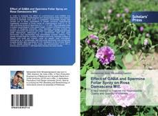 Copertina di Effect of GABA and Spermine Foliar Spray on Rosa Damascena Mill.