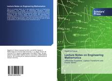 Bookcover of Lecture Notes on Engineering Mathematics
