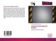 Portada del libro de Antonio Starabba di Rudinì