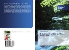 Bookcover of Critical study of Gita Mehta's A River Sutra