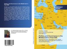 Couverture de Politics and Governance in the Middle East in Post ISIS