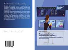 Bookcover of Transformation of conventional Banking