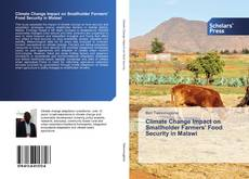 Capa do livro de Climate Change Impact on Smallholder Farmers' Food Security in Malawi