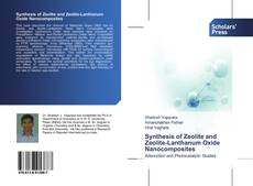 Bookcover of Synthesis of Zeolite and Zeolite-Lanthanum Oxide Nanocomposites