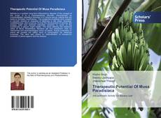 Copertina di Therapeutic Potential Of Musa Paradisiaca