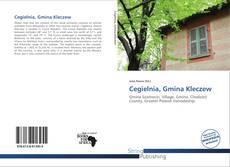 Bookcover of Cegielnia, Gmina Kleczew