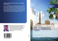 Couverture de TQM and Organizational Culture in Hospitality and Tourism