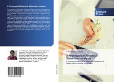 Couverture de A Prototypical Financial Statement analysis