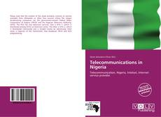 Bookcover of Telecommunications in Nigeria