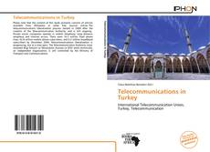 Bookcover of Telecommunications in Turkey