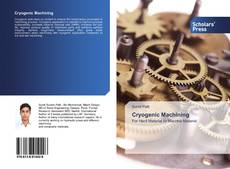 Bookcover of Cryogenic Machining
