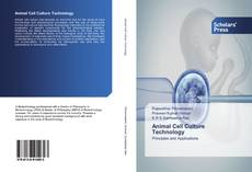 Bookcover of Animal Cell Culture Technology