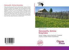 Portada del libro de Genowefa, Gmina Krzymów