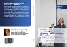 Обложка Impression Management in Accounting Communication of MENA Banks