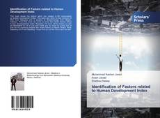 Portada del libro de Identification of Factors related to Human Development Index