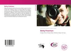 Bookcover of Betty Freeman