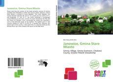 Capa do livro de Janowice, Gmina Stare Miasto