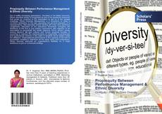 Bookcover of Propinquity Between Performance Management & Ethnic Diversity