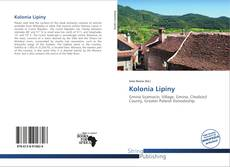 Kolonia Lipiny的封面