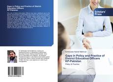 Capa do livro de Gaps in Policy and Practice of District Education Officers KP-Pakistan