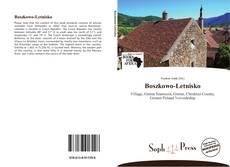 Boszkowo-Letnisko kitap kapağı