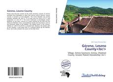 Bookcover of Górzno, Leszno County