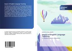 Bookcover of Impact of English Language Teaching