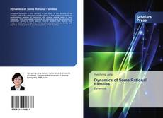 Buchcover von Dynamics of Some Rational Families