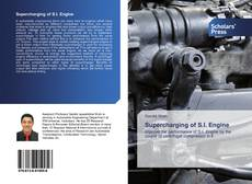 Bookcover of Supercharging of S.I. Engine