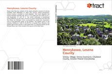 Portada del libro de Henrykowo, Leszno County