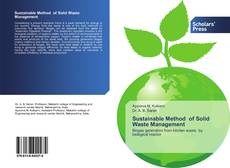 Bookcover of Sustainable Method of Solid Waste Management