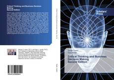 Capa do livro de Critical Thinking and Business Decision Making Second Edition